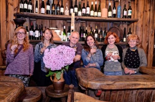 International filmmakers and hosts Ljiljana (main support in events) and Jasna