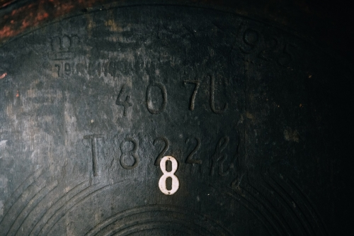 Oldest barrel from 1822
